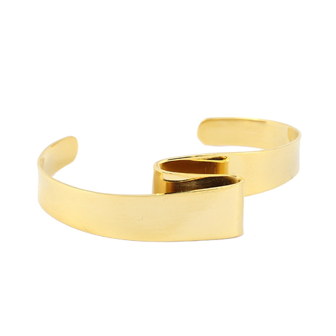 Folded Bangle from Anartxy - Zarabelle