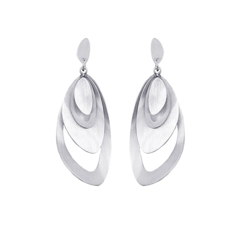 Oval Layered Earrings from Anartxy - Zarabelle