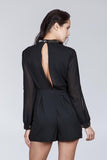 Black Jewel Romper