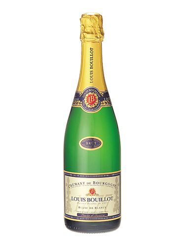 A bottle of NV Louis Bouillot Perle d'Ivoire Blanc de Blancs wine - ITM18984