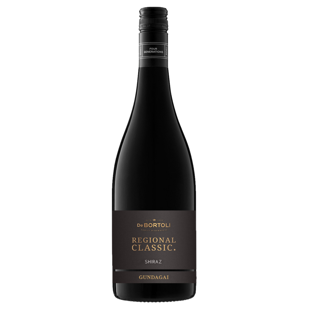 2017 De Bortoli Regional Classic Gundagai Shiraz (ITM57187) single bottle shot