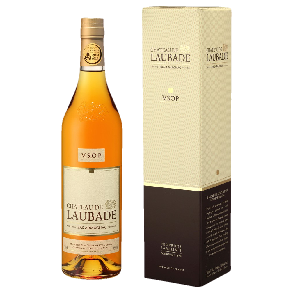 Chateau de Laubade Bas Armagnac VSOP 6 years old 40% 700ML (ITM61101) single bottle shot