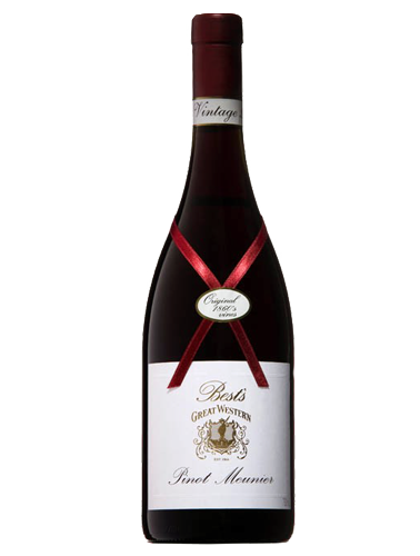 A bottle of 2005 Best's Old Vine Pinot Meunier Museum Release wine - ITM40716