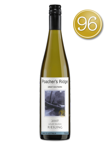 2007 Poacher's Ridge Riesling
