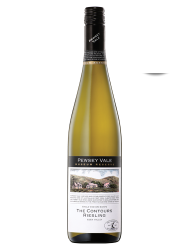 A bottle of 2013 Pewsey Vale The Contours Riesling wine - ITM25828