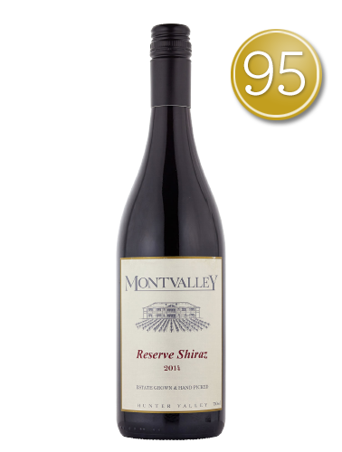 2014 Montvalley Reserve Shiraz