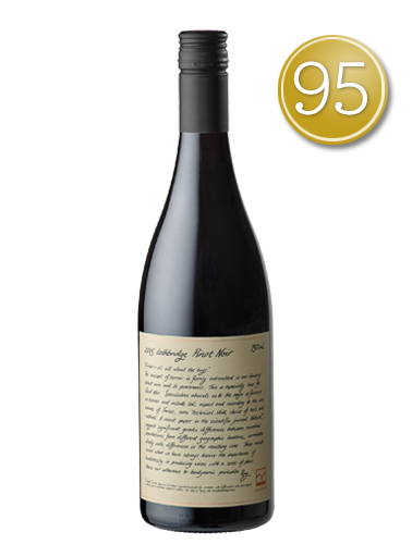 2015 Lethbridge Geelong Pinot Noir