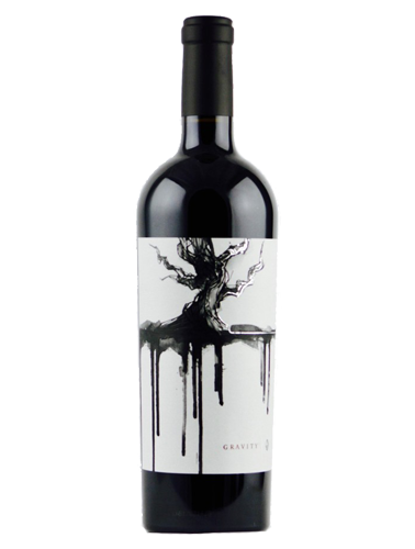 A bottle of 2015 Mount Peak Gravity Red Blend wine - ITM23591