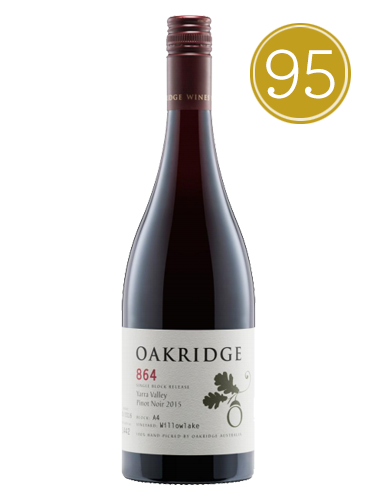 2015 Oakridge 864 Willowlake Block A4 Pinot Noir