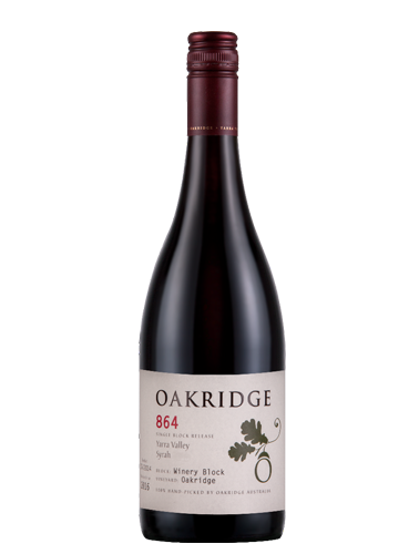 2015 Oakridge 864 Winery Block Oakridge Syrah