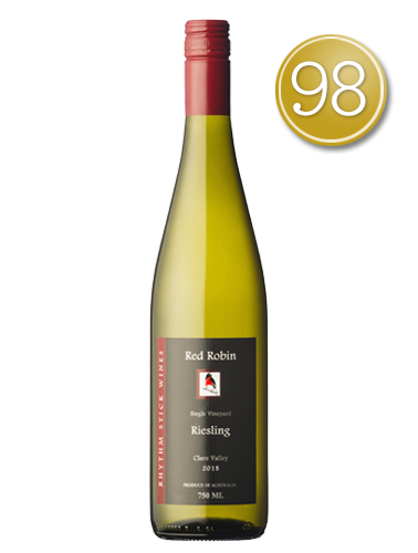 2015 Rhythm Stick Wines Red Robin Clare Valley Riesling