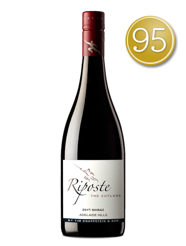 2015 Riposte By Tim Knappstein The Cutlass Shiraz