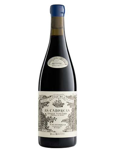 A bottle of 2015 Telmo Rodriguez 'As Caborcas' Valdeorras wine - ITM25330