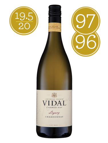 2015 Vidal The Legacy Hawkes Bay Chardonnay