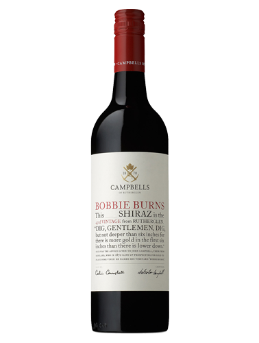 2016 Campbells Bobbie Burns Shiraz