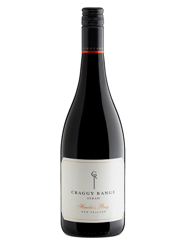 A bottle of 2016 Craggy Range Hawke's Bay Syrah wine - ITM29742