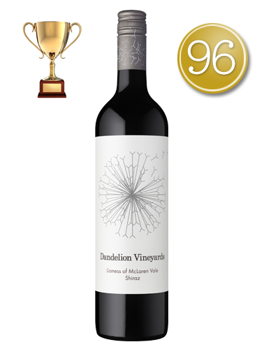 2016 Dandelion Vineyards Lioness of McLaren Vale Shiraz