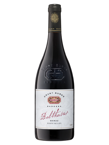 A bottle of 2016 Grant Burge Balthasar Eden Valley Shiraz wine - ITM31621
