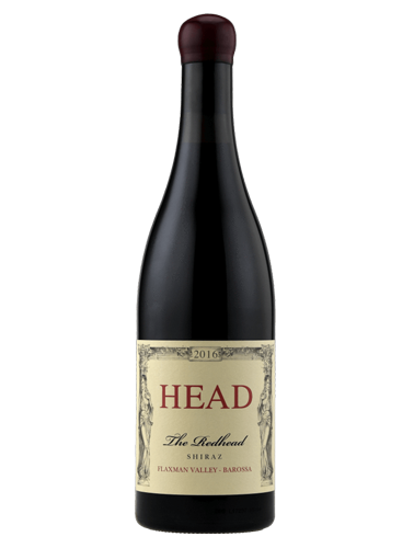 A bottle of 2016 Head The Redhead Shiraz wine - ITM15539