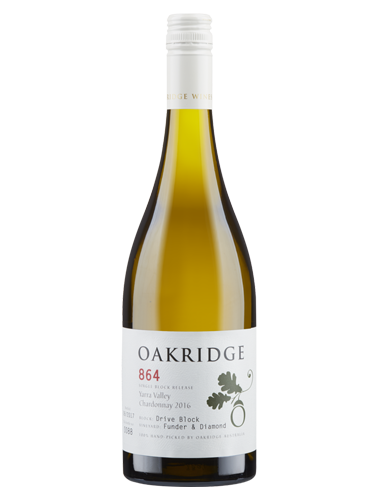 2016 Oakridge 864 Funder and Diamond Chardonnay