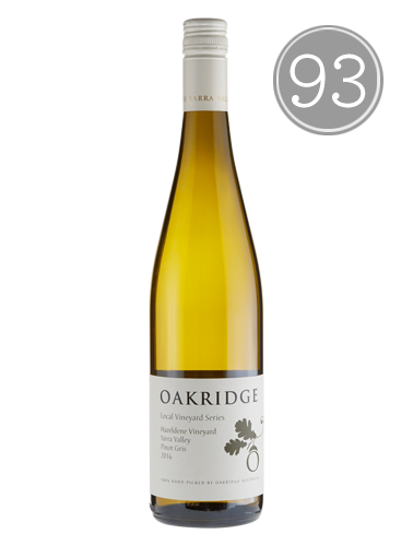 2016 Oakridge Hazeldene Vineyard Pinot Gris