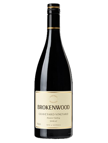 A bottle of 2017 Brokenwood Graveyard Shiraz wine - ITM31550