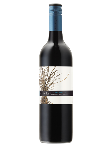 A bottle of 2017 Sticks Cabernet Sauvignon wine - ITM23125