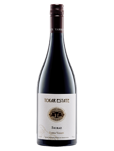 A bottle of 2017 Tokar Estate Shiraz wine - ITM23647