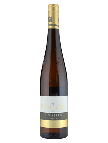 A bottle of 2017 Wagner-Stempel 'Hollberg' Riesling GG wine - ITM32377