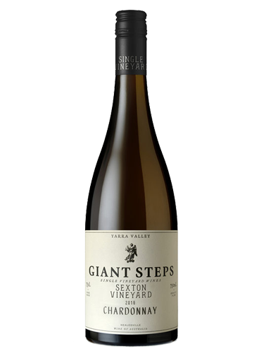 A bottle of 2018 Giant Steps Sexton Vineyard Chardonnay wine - ITM26358