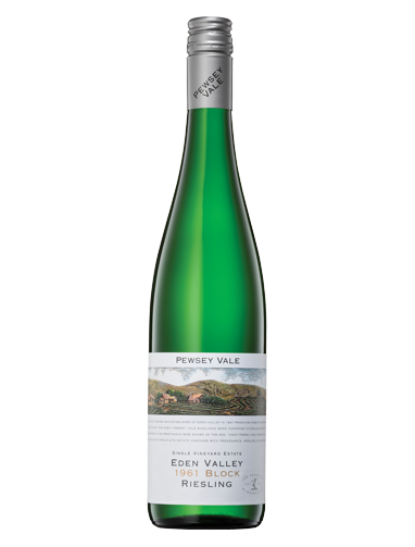 A bottle of 2018 Pewsey Vale 1961 Block Riesling wine - ITM26551