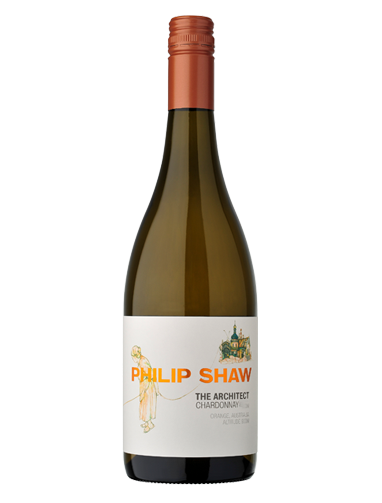 A bottle of 2018 Philip Shaw The Architect Chardonnay wine - ITM26484