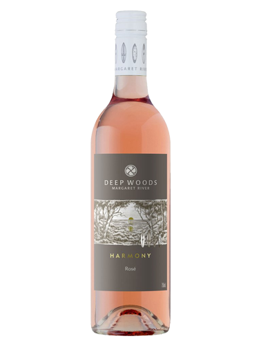 A bottle of 2019 Deep Woods Harmony Rose wine - ITM29589