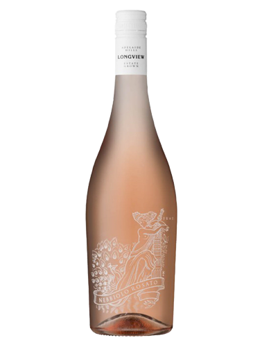 A bottle of 2019 Longview Nebbiolo Rosato wine - ITM40675