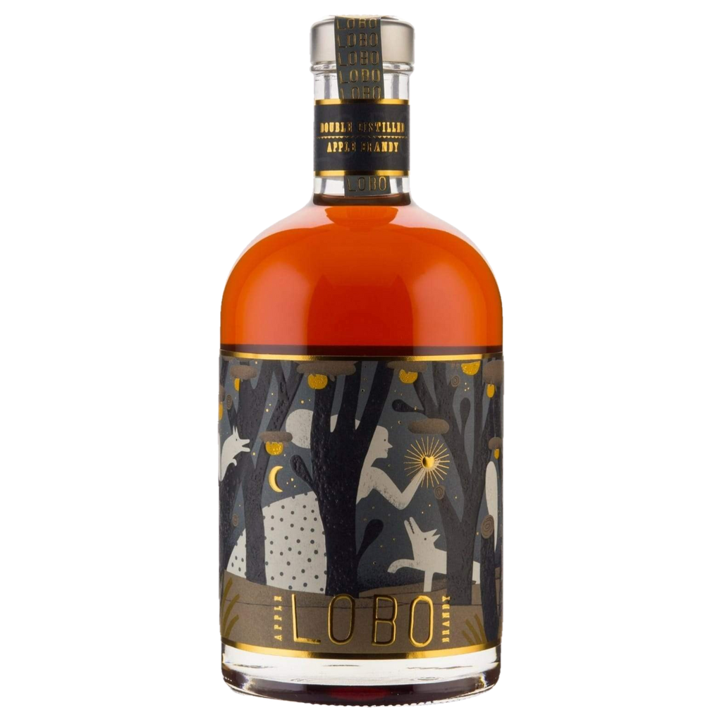 Lobo Apple Brandy 41.6% 700ML (ITM61114) single bottle shot