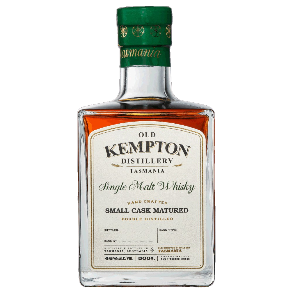 Old Kempton Tasmanian Sherry Small Cask Matured Whisky 46% 500ML (ITM61121) single bottle shot