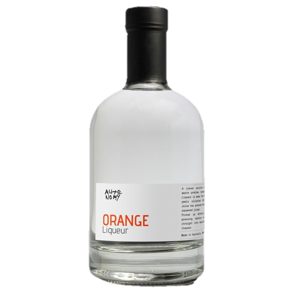 Autonomy Australian Orange Liqueur 38% 500ML (ITM61153) single bottle shot