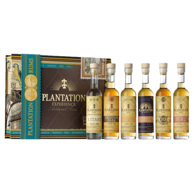 Plantation Experience Packs 600ml 40% (ITM47941) single bottle shot