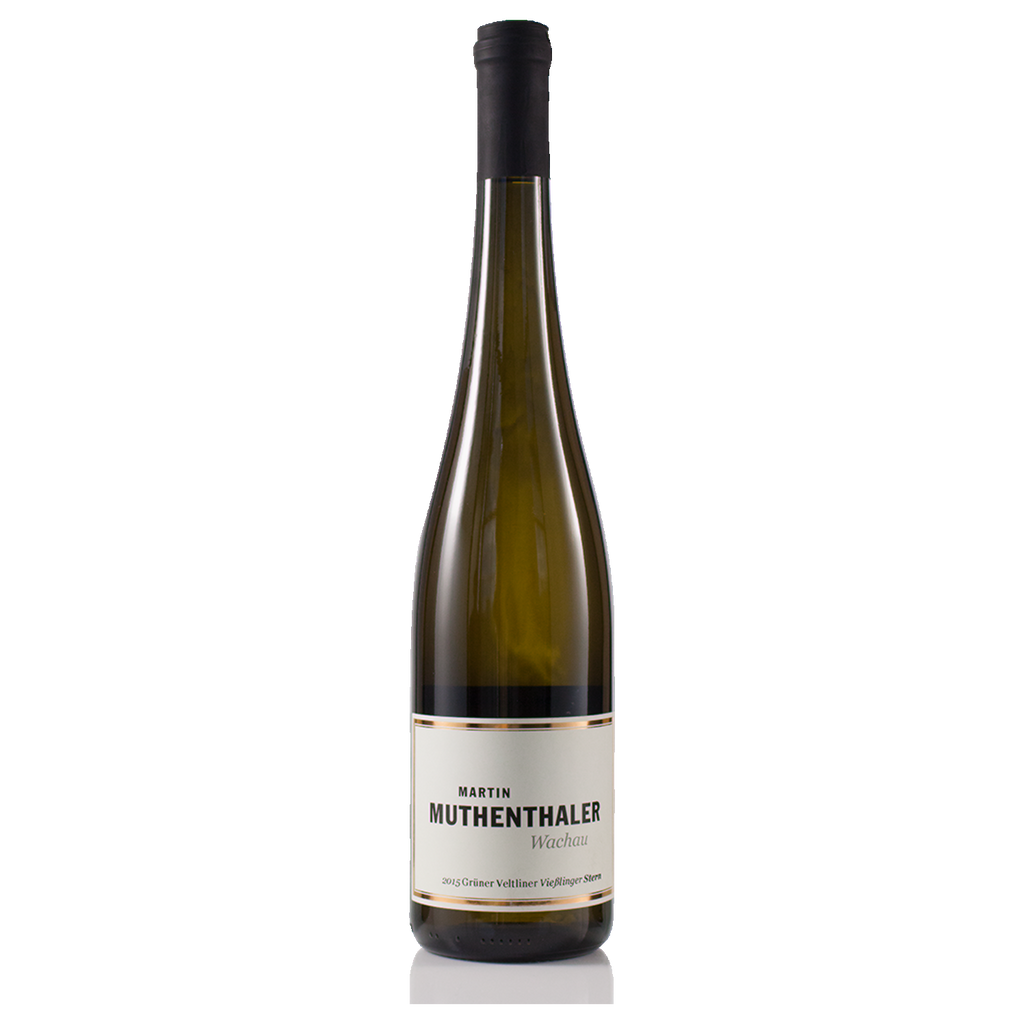 2015 Muthenthaler Viesslinger Stern Gruner Veltliner (ITM58997) single bottle shot
