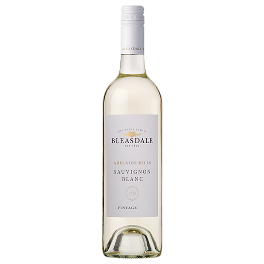 A bottle of 2019 Bleasdale Vineyards Adelaide Hills Sauvignon Blanc wine - ITM42205