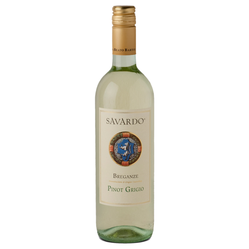 A bottle of 2019 Breganze Savardo Pinot Grigio wine - ITM44727