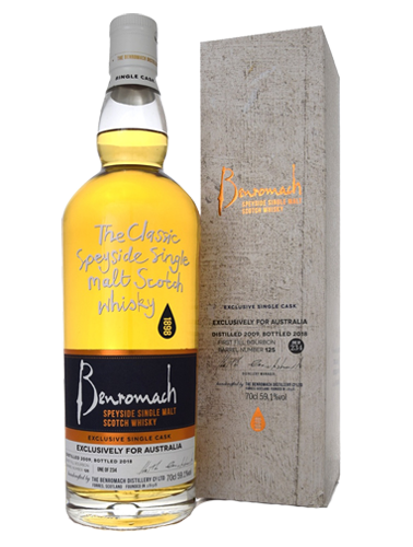 2009 Benromach Cask 125 Single Malt Whisky