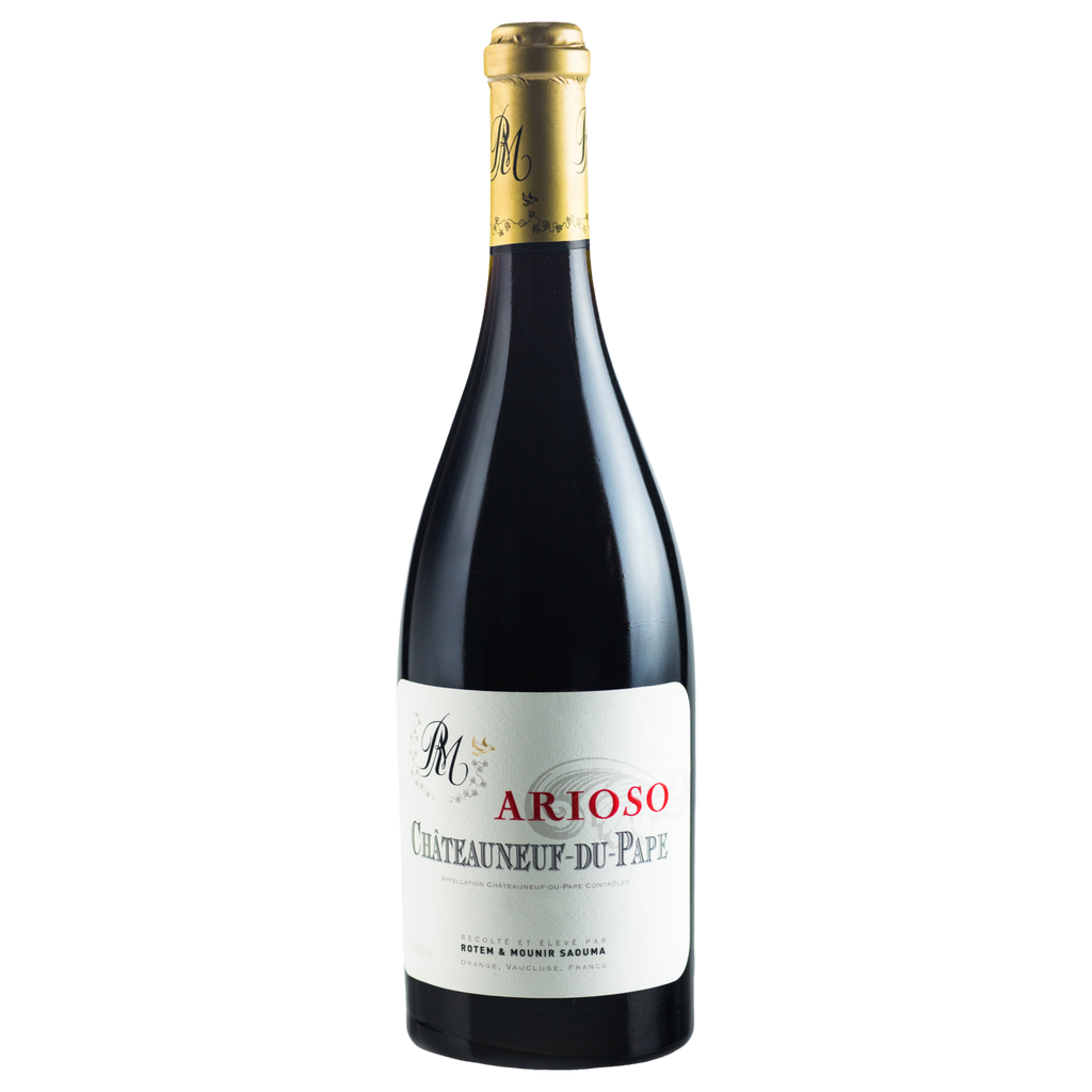 2015 Clos Saouma Le Clos 'Arioso' Chateauneuf-du-Pape Rouge (ITM60614) single bottle shot