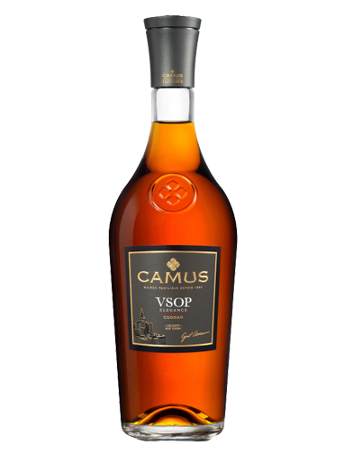 A bottle of Camus Elegance VSOP Cognac - ITM26231