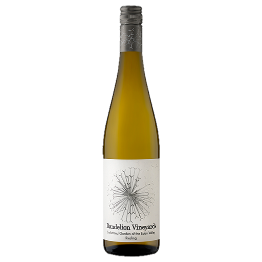 A bottle of 2019 Dandelion Enchanted Garden of the Eden Valley Riesling wine - ITM42337