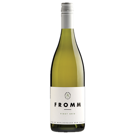 A bottle of 2018 Fromm Pinot Gris wine - ITM42728