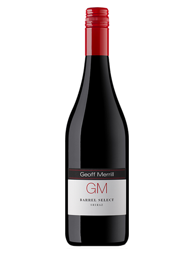 A bottle of 2014 Geoff Merrill Barrel Select Shiraz wine - ITM26177
