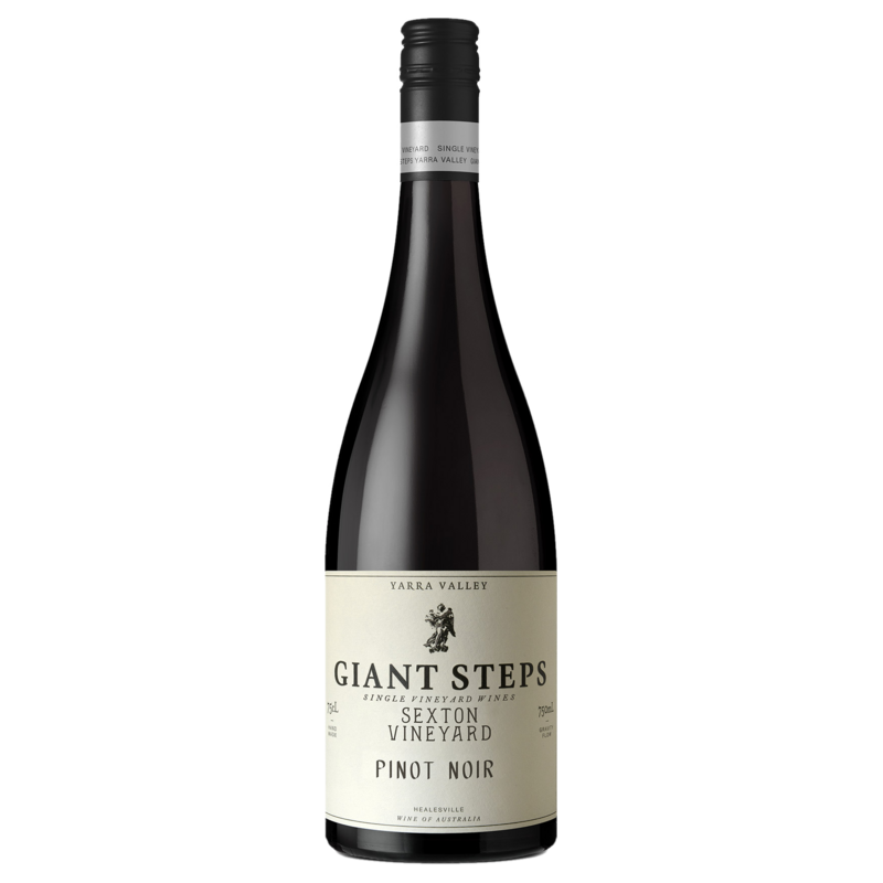 A bottle of 2019 Giant Steps Sexton Vineyard Pinot Noir wine - ITM44776