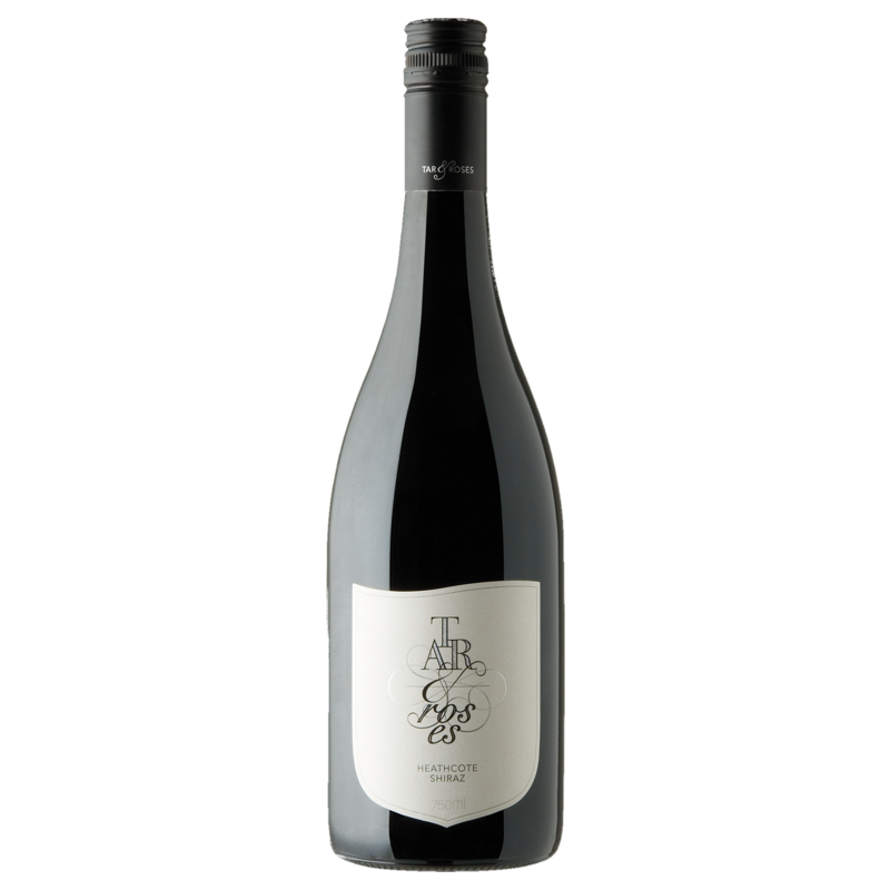 A bottle of 2018 Tar & Roses Heathcote Shiraz wine - ITM35645