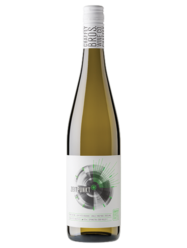 A bottle of 2018 Chaffey Bros Zeitpunkt Riesling wine - ITM36451